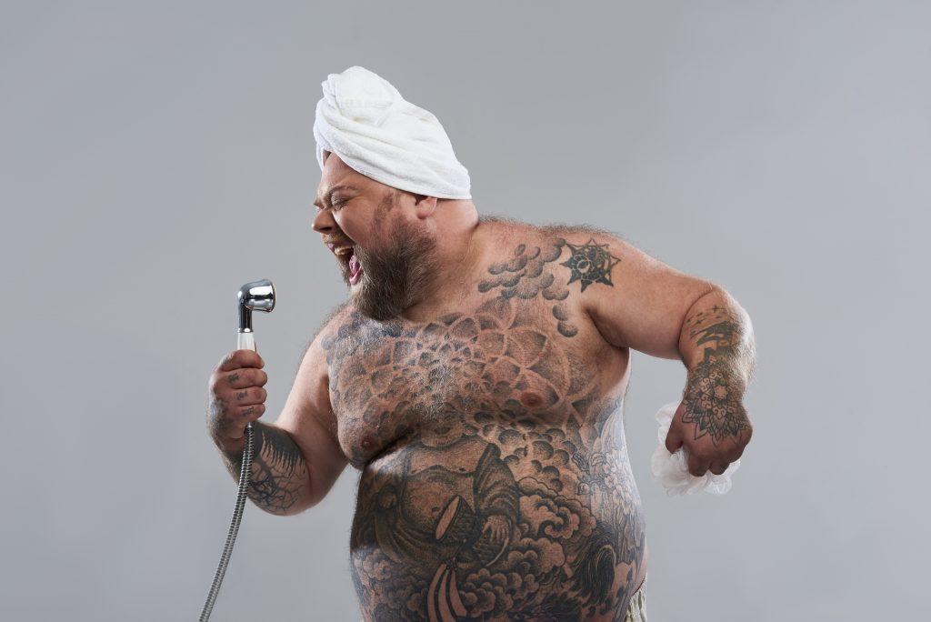 Sex-Tipp für mollige Männer: Gute Körperhygiene