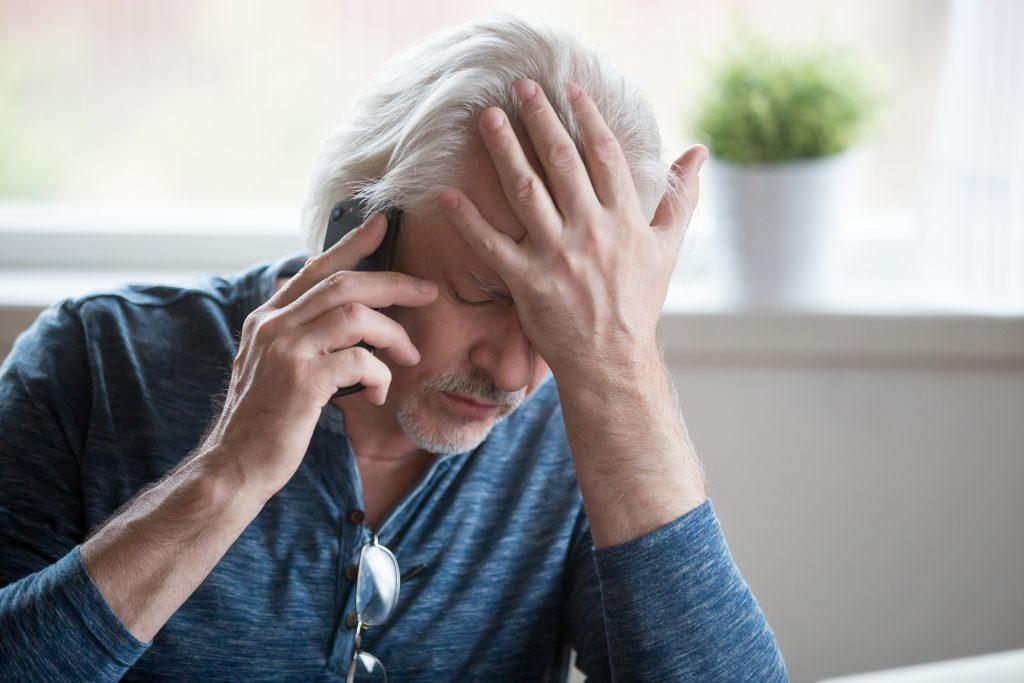 Älterer Mann als Opfer von Internet-Betrug